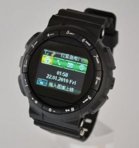 "China GD920 GSM Quad-band Bluetooth Watch Phone 1.3MP Camera,1.3""Touch LCD, on sale"