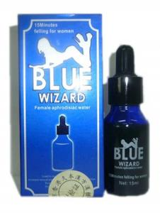 China Blue Wizard 15ml Female Aphrodisiac Water Women Sex Liquid on sale