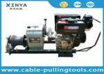 3 Ton Hand Operated Diesel Towing Winch Machine