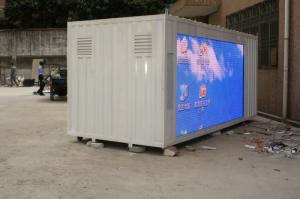 China RGB P10 Truck Mobile LED Display For Static Picture / Message Screen on sale