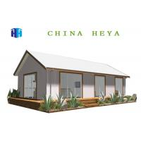 China Earthquake Proof Prefab Contemporary Homes Kits , Prefabricated Eco Houses Reusable on sale