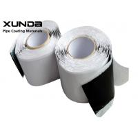 China 3 - 15 M Length Butyl Rubber Tape 85 - 105 DMM Penetration Hardness For Sealing on sale