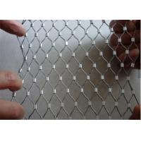 Flexible Stainless Steel Rope Wire Zoo Mesh, Decorative Cable Mesh Netting Fabric