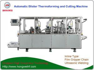 China automatic blister pack thermal forming and cutting / trimming machine on sale