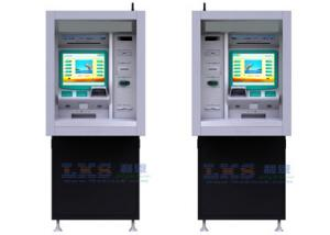 China 17'' Touch Monitor ATM Money Machine Customized With Cash Dispenser on sale