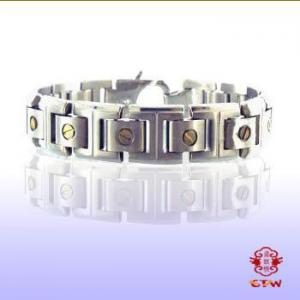 China wholesale custom Magnetic Titanium Bracelet with Germaniun on sale