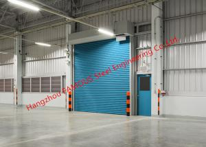 China Insulated Factory Rolling Gate Industrial Garage Doors Lifting For Warehouse Internal And External Use on sale