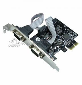 China 1.5 Mbytes / sec PCI - E SERIAL CARD OXFORD PCIE952 CHIPSET PCI - e 2S on sale