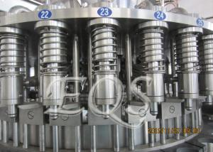 China Pet Bottle Tea Hot Filling Machine 12000BPH , 3 in 1 Washing Filling Capping Machine on sale