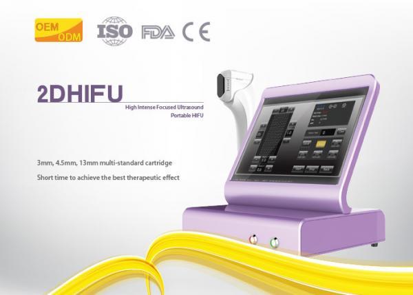 Medical Home Hifu Machine 10 - 11 Line Adjustable Ultrasound Skin