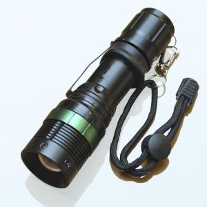 China 18650 350Lms Cree-XPE(Q5) Zoomable Light LED Flashlight/torches for Outdoor Sports on sale
