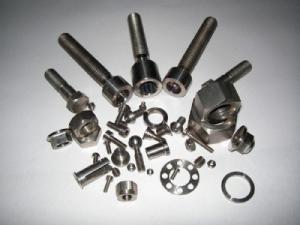 China titanium 6-aluminium 4-vanadium alloy Titanium Alloys parts in baoji on sale