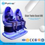VR Motion Chair Cinema 9D Virtual Reality Simulator With Special Effects