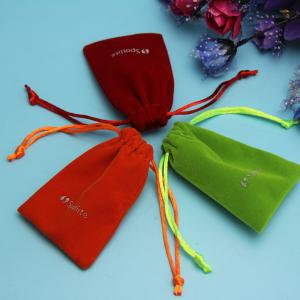 China Eco Friendly Gift Printed Logo Personalized Jewelry Pouches on sale