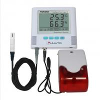 China Sound Light Alarm  High Accuracy Temperature Humidity Data Logger HUATO S500-EX on sale