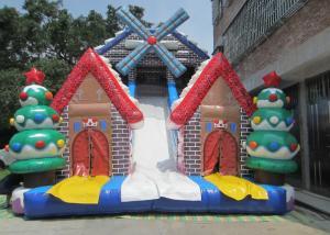 quality new 2017 christmas inflatable slide big xmas inflatable slide inflatable for sale