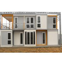 China Standard Portable Container House , Safe Comfortable Portable Living Containers on sale