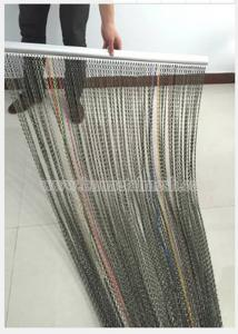 China Chain Link Curtain Keeps Flying Insects Away on sale