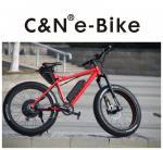 70km/H Max Speed All Terrain Fat Tire Bike For Mountain / Snow / Sand Beach