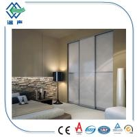 Custom Opaque Laminated Safety Glass frosted for bathroom 6.38-42.3mm