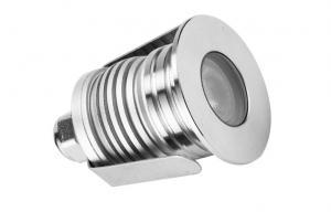 China IP67 Waterproof underground led downlight 1watt cut out 28mm , 15°/45°/60° beam angle on sale