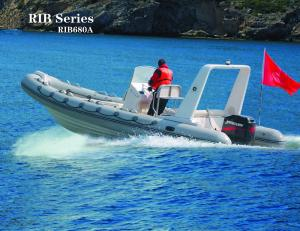 Small Inflatable Boats 6 8 Meter Luxury Yacht With Hypalon