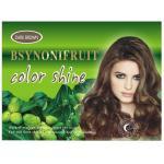 cores de escurecimento das substâncias corantes do cabelo do champô do cabelo erval natural multi