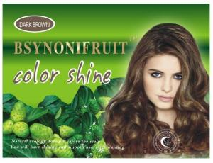 China natural herbal hair darkening shampoo hair colorants multi colors on sale