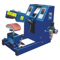 Pneumatic Digital Cap Heat Pressing Machine For 150x60 MM Plate