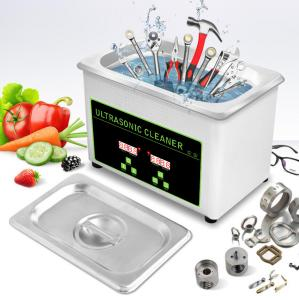 China 0.8L 35W Gold Glasses Ultrasonic Cleaning Bath CE Tool Ultrasonic Cleaning on sale