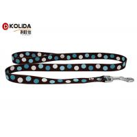 China Multi - Color Nylon Webbing Cat Halter Leash Nylon Cat Collar Leash on sale
