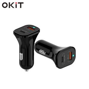 China car cigarette lighter 3 port usb car charger adapter for mobile phone on sale