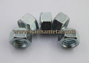 China Carbon steel, mild steel,DIN934 hexagon nuts on sale