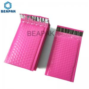 China Sealing Handle LDPE Bubble Poly Mailers Gravure Printing on sale