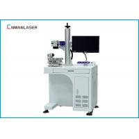 China Jeans Bamboo Co2 Laser Marking Machine 2D Working Table 175*175 Mm Scanning Head on sale