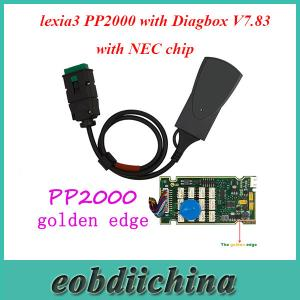 China Lite Version lexia3 PP2000 with Diagbox V7.83 Software for Citroen/Peugeot with NEC chip on sale