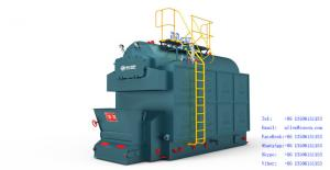 China DZL (Vertical Single drum chain grate) Coal-Fired Hot Water Boiler on sale