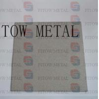 porosity Sintered titanium metal Filter/Disc plate