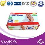 Usine de chiffon de bébé de marque de distributeur, fournisseur en gros de la Chine de chiffon de bébé, chiffon humide de bébé sans alcool à prix compétitif