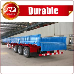 Quality 2016 China Hot Sale Curtain Side Trailers For