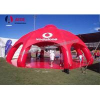 Red Giant Inflatable Spider Tent With 8 Legs PVC Party Tents For Rent