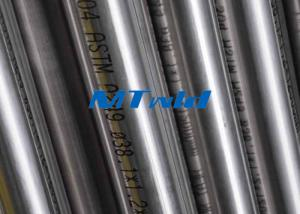China 1 / 8 Inch TP304 / 316 ERW / EFW Stainless Steel Round Tube With Bright Annealed Surface on sale