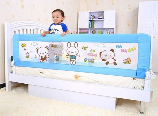 Little Rabbit Extra Long Bed Guard Rails For Full Mesh Toddler Rail