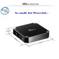 Plastic X96 Mini Android TV Box S905W Quad Core 16GB Flash 2GB Memory