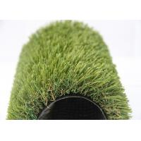 China Anti-Slip Indoor Home Artificial Grass Fake Turf Green / Olive Green Color on sale