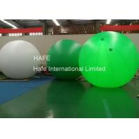 China 4m 5m 6m LED Helium Balloon Lights , Event Ad Glow In The Dark Helium Balloons on sale