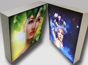 China High Power Frameless LED Light Box Panels Flexible Graphic Silicon Edge on sale