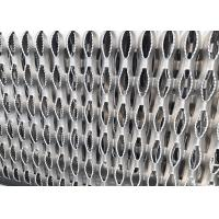 11GA Thick Aluminum Perforated Grip Strut Grating For Plank Walkway Stair Tread