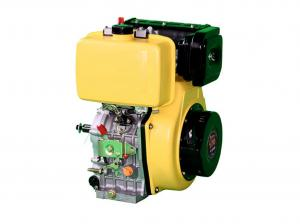 China OHV Structure 4HP Diesel Engine 211CC 170F 2.5L Fuel Tank Yellow Color on sale