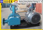 Low Noise Roots Vacuum Blower For Printing Machine -9.8 To -49 Kpa Pressure